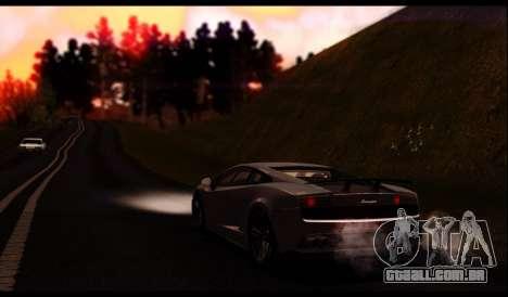 ENB J.F ProjeT 3.0 para GTA San Andreas sexta tela