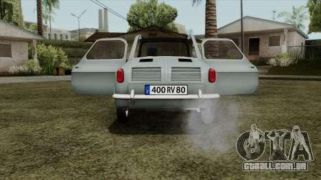 Vespa 400 para GTA San Andreas vista direita