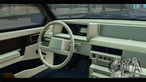 VAZ 21083 para GTA San Andreas vista direita