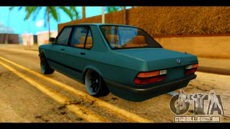 BMW 535is para GTA San Andreas esquerda vista