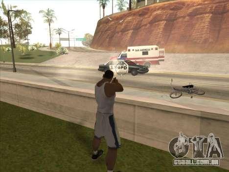 Grande russo armas para GTA San Andreas quinto tela
