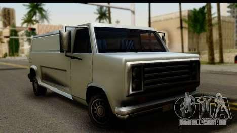 Burney Van para GTA San Andreas