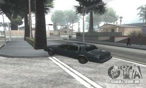 Beautiful ENB + Colormod 1.3 para GTA San Andreas sexta tela
