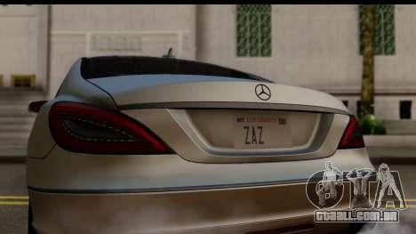 Mercedes-Benz CLS 350 2011 para GTA San Andreas vista direita
