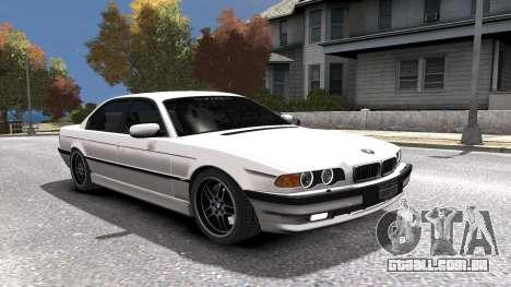 BMW 750i e38 1994 Final para GTA 4 motor