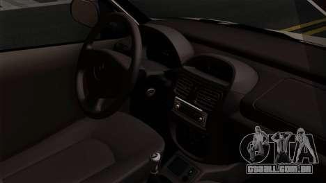 Renault Clio Mio 5P para GTA San Andreas vista direita
