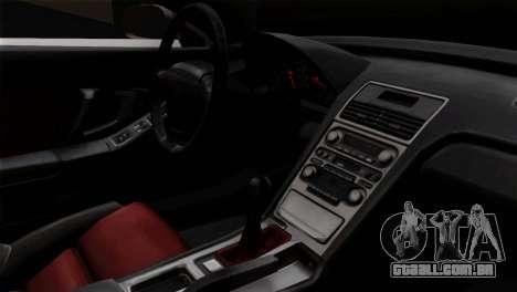 Honda NSX Police Car para GTA San Andreas vista direita