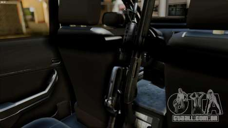 Toyota Hilux SW4 2014 ROTA para GTA San Andreas vista direita