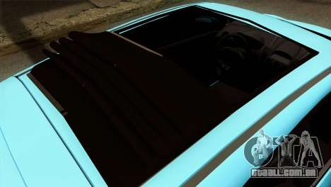Ford Fiesta 2009 Minty Fresh para GTA San Andreas vista traseira