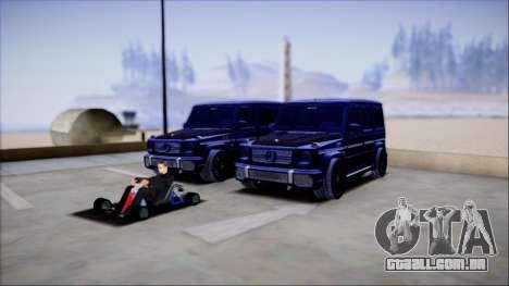 Reflective ENBSeries v2.0 para GTA San Andreas sexta tela