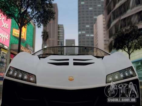 ENB para médias e PC pela WD para GTA San Andreas segunda tela