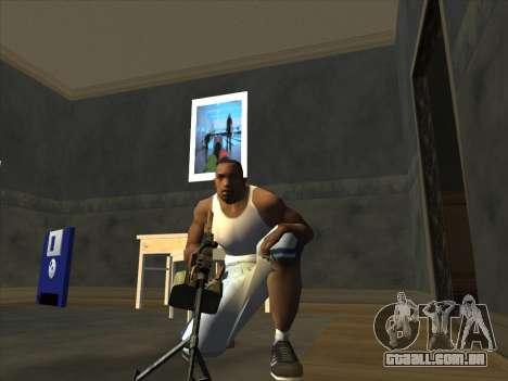 PCM de Battlefield 2 para GTA San Andreas por diante tela