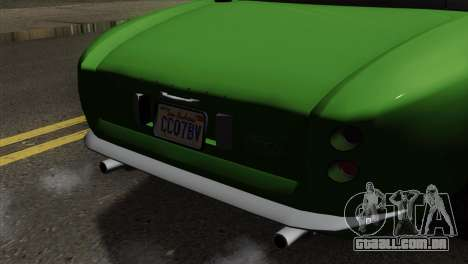 GTA 5 Grotti Stinger GT v2 para GTA San Andreas vista traseira