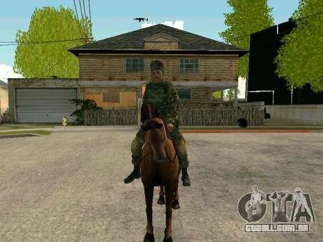 Kuban Cossaco para GTA San Andreas por diante tela