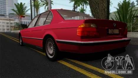 BMW 750iL E38 para GTA San Andreas esquerda vista