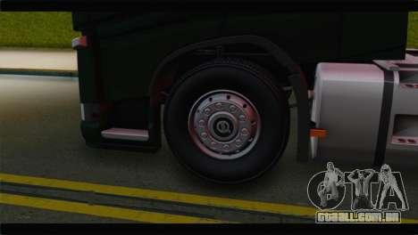 Volvo FH4 para GTA San Andreas traseira esquerda vista