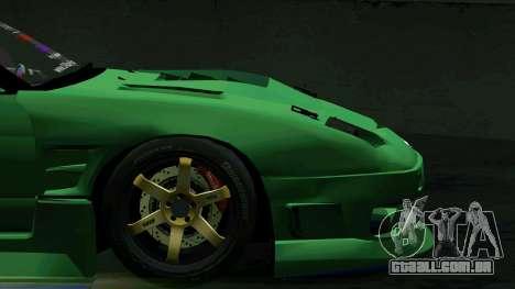Nissan 180SX para vista lateral GTA San Andreas