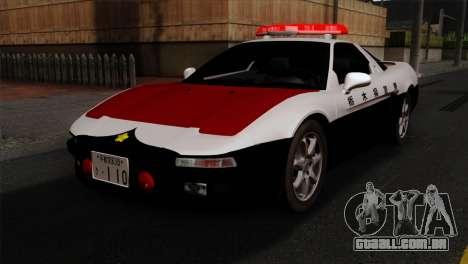 Honda NSX Police Car para GTA San Andreas