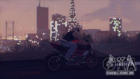 Real Live ENB para GTA San Andreas quinto tela