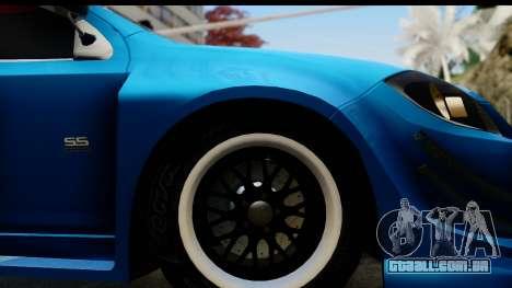 Chevrolet Cobalt SS Mio Itasha para GTA San Andreas vista traseira