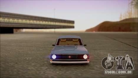 Reflective ENBSeries v2.0 para GTA San Andreas por diante tela