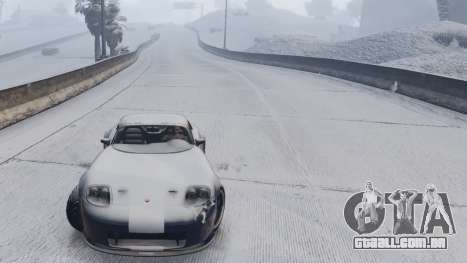 GTA 5 GTA V Online Snow Mod sexta imagem de tela