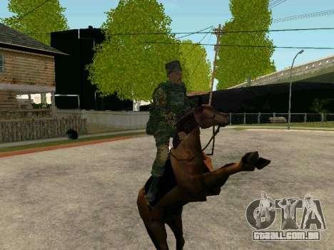 Kuban Cossaco para GTA San Andreas oitavo tela