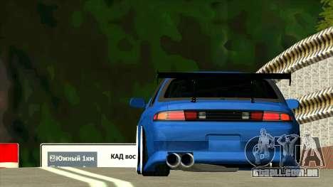 Nissan Silvia S14 Zenki para GTA San Andreas vista traseira