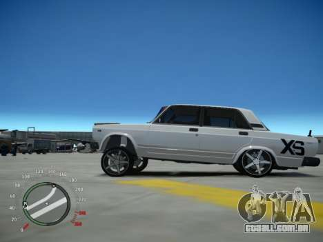 VAZ 2107 Aze para GTA 4 esquerda vista