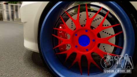 Honda Fit Sport 2009 para GTA San Andreas vista direita
