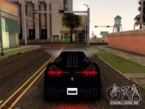 ENB para médias e PC pela WD para GTA San Andreas quinto tela