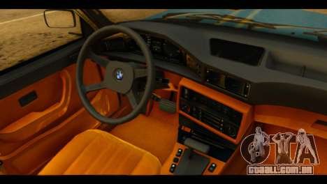 BMW 535is para GTA San Andreas vista direita