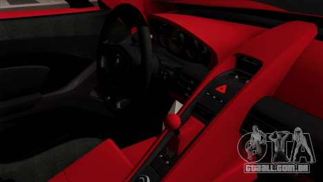 Gemballa Mirage GT v3 Windows Down para GTA San Andreas vista direita