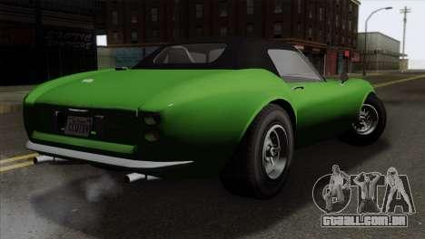 GTA 5 Grotti Stinger GT v2 para GTA San Andreas esquerda vista