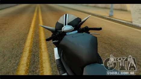 Honda CBR1000RR para GTA San Andreas vista direita