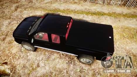 Chevrolet Silverado 1500 LT Extended Cab wheels3 para GTA 4 vista direita