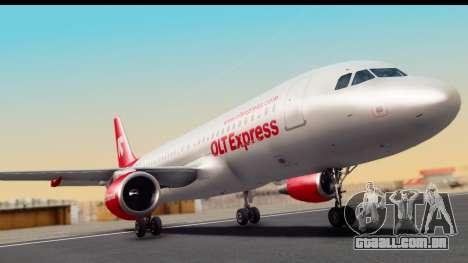 Airbus A320-200 OLT Express para GTA San Andreas