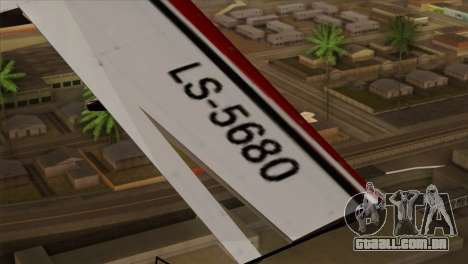 GTA 5 Stuntplane para GTA San Andreas vista direita