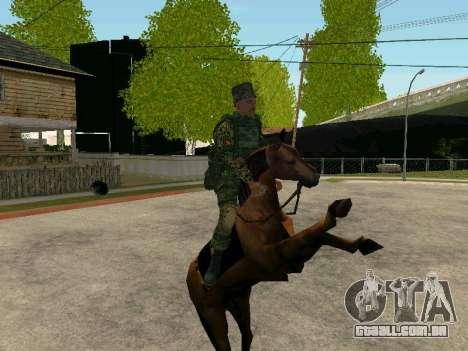 Kuban Cossaco para GTA San Andreas sétima tela