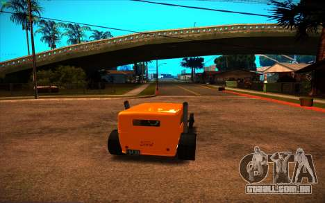 Ford Model A Hot-Rod para GTA San Andreas esquerda vista