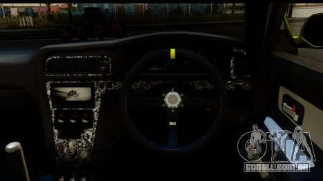 Toyota Chaser Tourer V Fail Crew para GTA San Andreas vista traseira