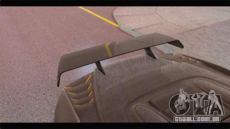 GTA 5 Pegassi Zentorno Spider para GTA San Andreas vista direita