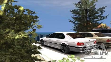 BMW 750i e38 1994 Final para GTA 4 rodas