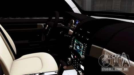 Lexus LX570 2011 para GTA San Andreas vista direita