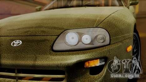 Toyota Supra Turbo (JZA80) 1998 FF7 Edition para GTA San Andreas vista direita