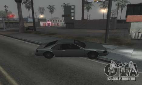 Beautiful ENB + Colormod 1.3 para GTA San Andreas por diante tela
