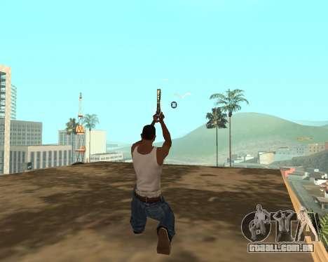 Green Pack Asiimov CS:GO para GTA San Andreas nono tela