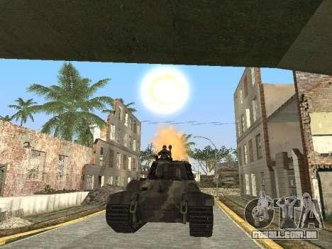 Panzerkampfwagen Tiger II para o motor de GTA San Andreas