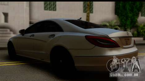 Mercedes-Benz CLS 350 2011 para GTA San Andreas esquerda vista
