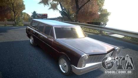 GTA III Perennial High Poly para GTA 4 vista de volta
